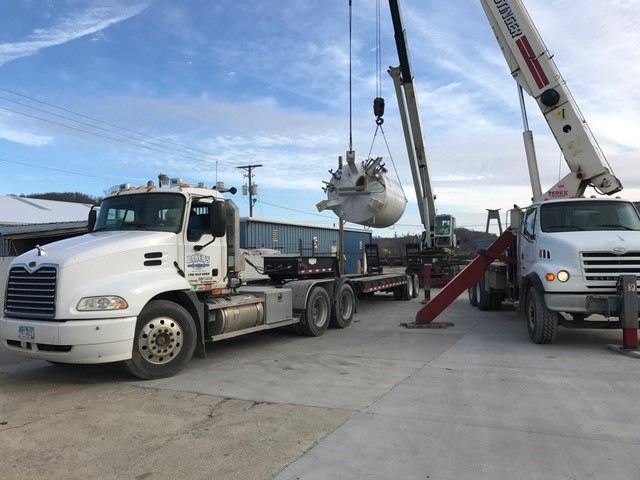 Bakers Welding Crane Boom Trucks 38 4